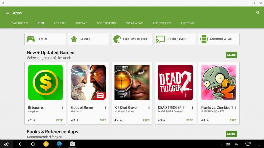 google play store installeren op laptop
